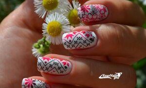 86 красивых дизайнов маникюра на короткие ногти гель-лаком пошагово — фото, видео, новинки